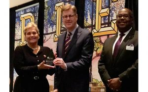 Barbara Dotterer recognized by Craven PIE