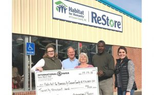 Habitat International Paper Grant