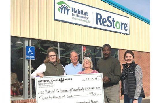 Habitat International Paper Grant
