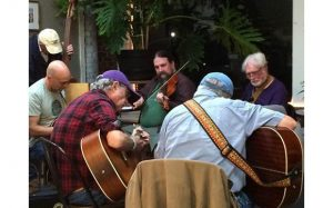Irish Music Session at Bella's Cafe'