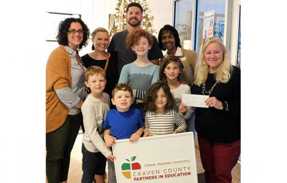 James and Coverdale Families donate to PIE