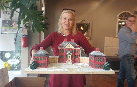 Gingerbread House Art Auction