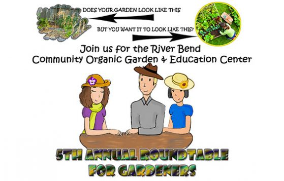 River Bend Community Organic Garden - February Workshop