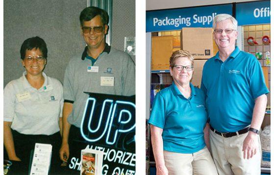 Pat and Mack - UPS Store of New Bern