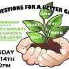 River Bend Community Organic Garden - May Workshop