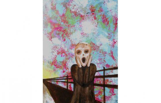 Ode to Edward Munch by Brian Cardoza