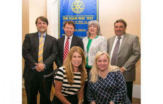 Rotary Club of New Bern - New Officers