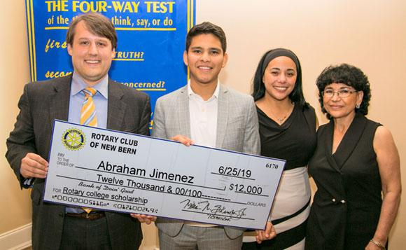 Rotary Scholarship Winner 2019