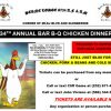 Berne Lodge BBQ Chicken Fundraiser