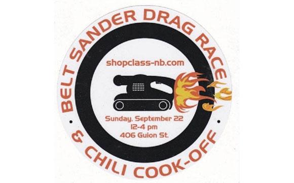 Belt Sander Drag Race - Chili Cook-off