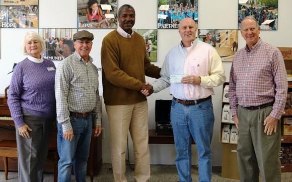 Knights of Columbus Donation to Craven Habitat