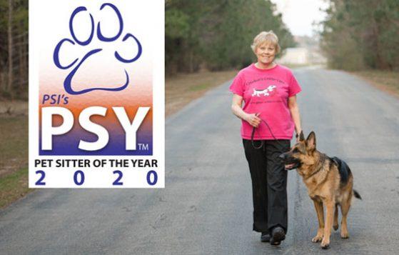 Jeanne Crockett - 2020 Pet Sitter of the Year
