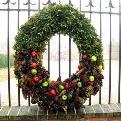 Tryon Palace Wreath by Jeanne Julian