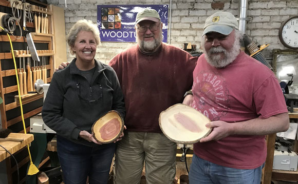 Woodturning at Shop Class